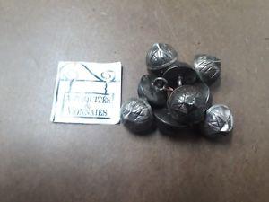 【送料無料】メンズアクセサリ― カフスボタンソリッドシルバーset of 9 cufflinks solid silver ref41239