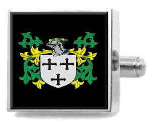 【送料無料】メンズアクセサリ― イングランドアームカフリンクスパーソナライズケースコートhiggins england family crest surname coat of arms cufflinks personalised case