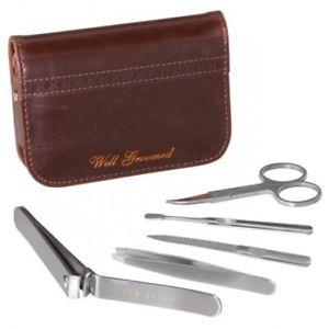 【送料無料】メンズアクセサリ― テッドベイカーウォルナットブラウンマニキュアセットted baker walnut brown manicure set