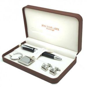 【送料無料】メンズアクセサリ― アップランズカフスボタンペンキーリングセットuplands cufflinks pen amp; key ring boxed gift set