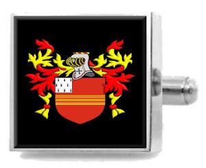 【送料無料】メンズアクセサリ― ブリッグズイングランドカフリンクスパーソナライズケースコートbriggs england family crest surname coat of arms cufflinks personalised case