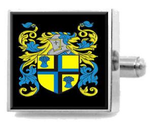 【送料無料】メンズアクセサリ― イートンカフスリンクケースeton england family crest surname coat of arms cufflinks personalised case