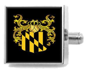 【送料無料】メンズアクセサリ― カルバートイングランドアームカフリンクスパーソナライズケースコートcalvert england family crest surname coat of arms cufflinks personalised case