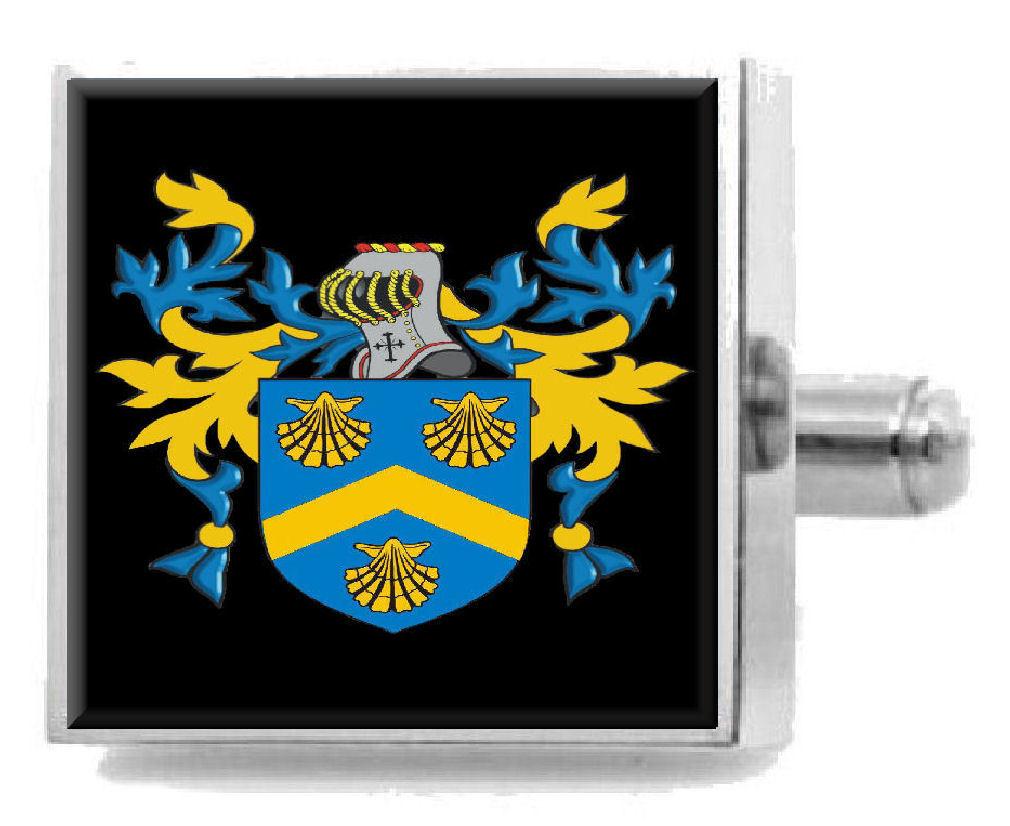 【送料無料】メンズアクセサリ― ブラウンアイルランドカフスリンクケースbrowne ireland family crest surname coat of arms cufflinks personalised case