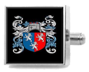【送料無料】メンズアクセサリ― イングランドアームカフリンクスパーソナライズケースコートherbert england family crest surname coat of arms cufflinks personalised case