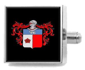 【送料無料】メンズアクセサリ― ヘンリーイングランドアームカフリンクスパーソナライズケースコートhenry england family crest surname coat of arms cufflinks personalised case