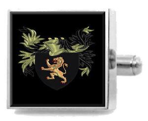 【送料無料】メンズアクセサリ― ウィリアムズカフスリンクケースwilliams england family crest surname coat of arms cufflinks personalised case