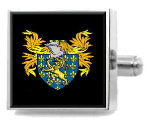 【送料無料】メンズアクセサリ― イングランドアームカフリンクスパーソナライズケースコートbeaumont england family crest surname coat of arms cufflinks personalised case