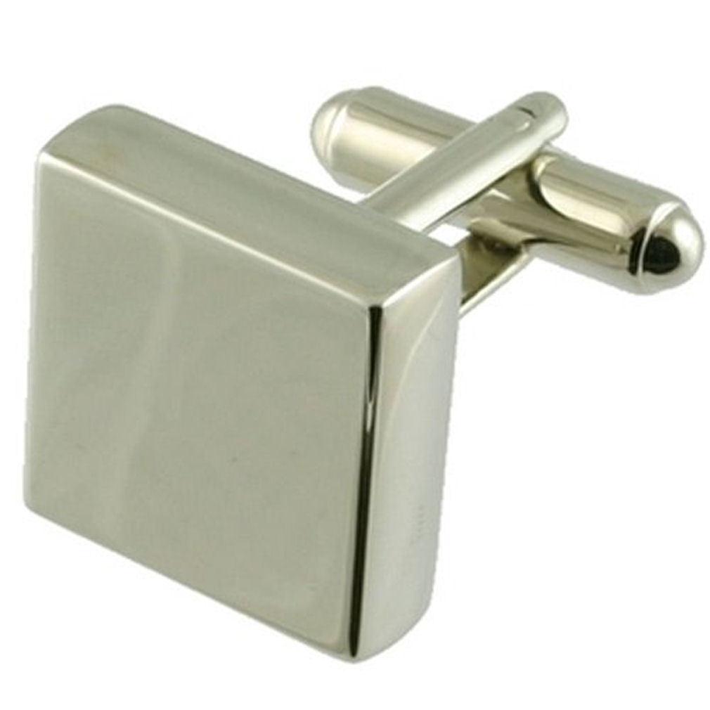 【送料無料】メンズアクセサリ― カフスリンクカフスリンクブランクsquare cufflinks cufflinks for him chunky alloy blank engraved personalised box