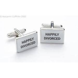 【送料無料】メンズアクセサリ― カフリンクスhappily divorced cufflinks