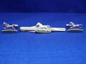 【送料無料】メンズアクセサリ― ウェールズヨークシャーカフリンクタイグリップクリップセットプリンセスprinces of wales own yorkshire regiment cuff link and tie grip clip set