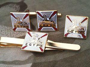 【送料無料】メンズアクセサリ― ロイヤルカフリンクスバッジネクタイクリップセットrgbw royal gloucester berkshire wiltshire cufflinks, badge, tie clip gift set