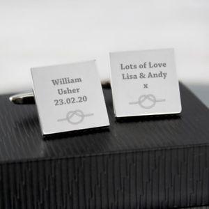 【送料無料】メンズアクセサリ― ノットカフスボタンタイtie the knot wedding cufflinks