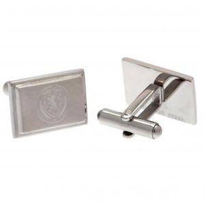 【送料無料】メンズアクセサリ― スコットランドステンレスカフスボタンscotland fa stainless steel cufflinks gift