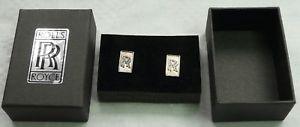 【送料無料】メンズアクセサリ― ロールスロイスロゴボックスロゴカフスボタンrollsroyce rr logoed cufflinks, 3d, high quality, in rr logoed box