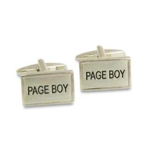 【送料無料】メンズアクセサリ― ページボーイカフリンクスpage boy rectangle cufflinks