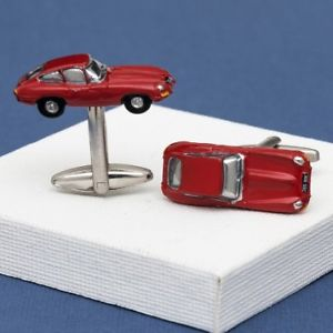 【送料無料】メンズアクセサリ― シリーズタイプジャガーカーカフリンクスseries 1 etype jaguar car cufflinks