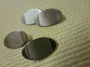 【送料無料】メンズアクセサリ― ロットシルバーカフリンクlot 14 silver cuff links