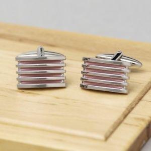 【送料無料】メンズアクセサリ― ピンクグリルカフリンクスalleto pink grill cufflinks