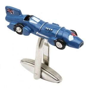 【送料無料】メンズアクセサリ― カーカフリンクス1935 blue bird car cufflinks