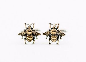 【送料無料】メンズアクセサリ― カフスボタンhoney bee cufflinks bees insect forest woodland wildlife nature animal garden
