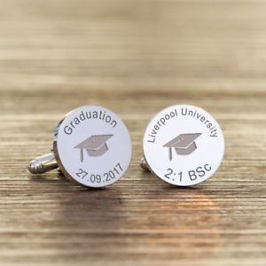 【送料無料】メンズアクセサリ― カフリンクスuniversity degree graduation cufflinks