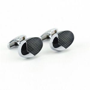 【送料無料】メンズアクセサリ― スタンレーアクリルカフリンクスoval stanley acrylic cufflinks