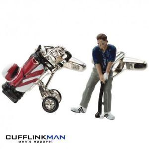 【送料無料】メンズアクセサリ― ゴルフパーフォアカフリンクスgolf par fore cufflinks