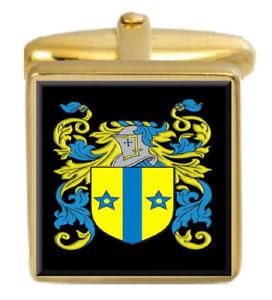 【送料無料】メンズアクセサリ― アイルランドカフスボタンボックスコートmcdonogh ireland family crest surname coat of arms gold cufflinks engraved box