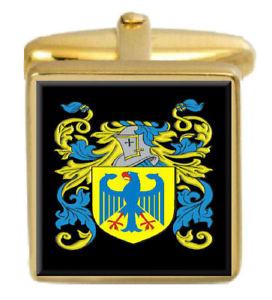 【送料無料】メンズアクセサリ― カーギルスコットランドカフスボタンボックスコートcargill scotland family crest surname coat of arms gold cufflinks engraved box