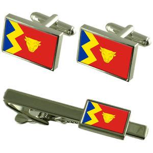 【送料無料】メンズアクセサリ― バーミンガムシティカフスボタンタイクリップボックスセットbirmingham city england flag cufflinks tie clip box gift set