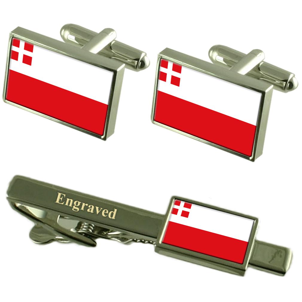 【送料無料】メンズアクセサリ― ユトレヒトカフスボタンタイクリップマッチングボックスutrecht flag cufflinks engraved tie clip matching box set