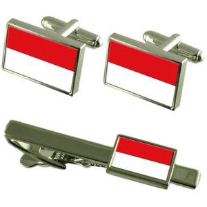 【送料無料】メンズアクセサリ― フォアアールベルクカフスボタンタイクリップマッチングボックスセットvorarlberg flag cufflinks tie clip matching box gift set