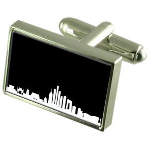 【送料無料】メンズアクセサリ― スカイラインカフスボタンメッセージボックスskyline beijing cufflinks engraved message box