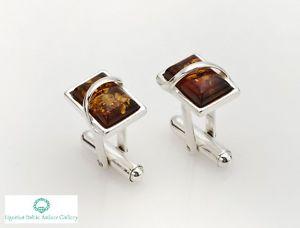 【送料無料】メンズアクセサリ― natural baltic amber sterling925cufflinks hand engravingnatural baltic amber sterling silver 925 cufflinks hand engraving