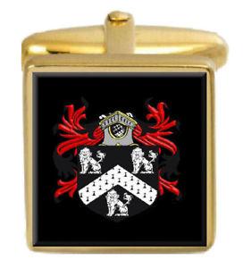 【送料無料】メンズアクセサリ― ライアンアイルランドカフスボタンボックスセットファミリークレストコートlyons ireland family crest coat of arms heraldry cufflinks box set engraved
