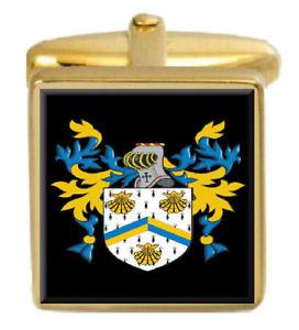 【送料無料】メンズアクセサリ― イングランドカフスボタンボックスセットファミリークレストコートgerrie england family crest coat of arms heraldry cufflinks box set engraved