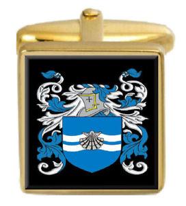 【送料無料】メンズアクセサリ― スコットランドカフスボタンボックスセットファミリークレストコートmacleish scotland family crest coat of arms heraldry cufflinks box set engraved