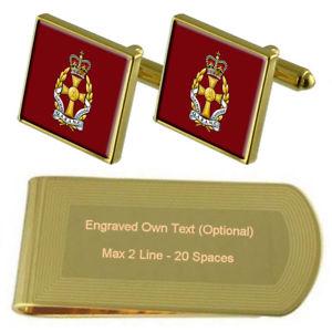【送料無料】メンズアクセサリ― アーミークイーンサイズロイヤルマネークリップボックスarmy queen alexandras royal nursing corps engraved money clip box set