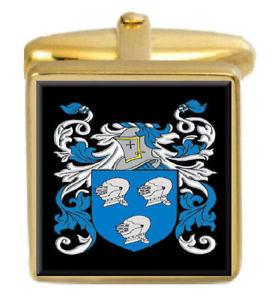 【送料無料】メンズアクセサリ― スコットランドカフスボタンボックスセットファミリークレストコートrabon scotland family crest coat of arms heraldry cufflinks box set engraved