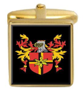 【送料無料】メンズアクセサリ― イングランドカフスボタンボックスセットファミリークレストコートkenn england family crest coat of arms heraldry cufflinks box set engraved