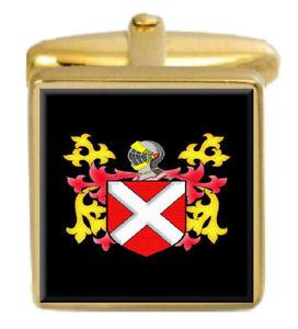 【送料無料】メンズアクセサリ― ネビルアイルランドカフスボタンボックスセットファミリークレストコートneville ireland family crest coat of arms heraldry cufflinks box set engraved