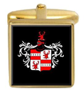 【送料無料】メンズアクセサリ― スコットランドカフスボタンボックスセットファミリークレストコートcrawford scotland family crest coat of arms heraldry cufflinks box set engraved