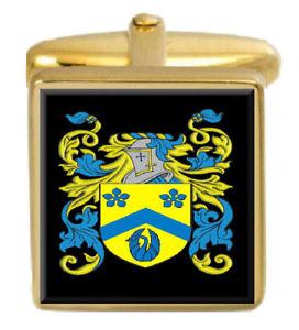 【送料無料】メンズアクセサリ― リンアイルランドカフスボタンボックスセットファミリークレストコートoflynn ireland family crest coat of arms heraldry cufflinks box set engraved