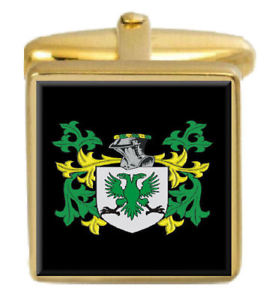 【送料無料】メンズアクセサリ― スコットランドカフスボタンボックスセットファミリークレストコートtennant scotland family crest coat of arms heraldry cufflinks box set engraved