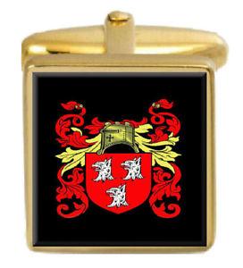 【送料無料】メンズアクセサリ― ライアンアイルランドカフスボタンボックスセットファミリークレストコートryan ireland family crest coat of arms heraldry cufflinks box set engraved