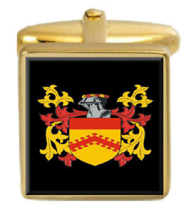 【送料無料】メンズアクセサリ― スコットランドカフスボタンボックスセットファミリークレストコートclunis scotland family crest coat of arms heraldry cufflinks box set engraved