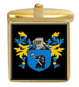 【送料無料】メンズアクセサリ― アイルランドカフスボタンボックスセットファミリークレストコートtowey ireland family crest coat of arms heraldry cufflinks box set engraved
