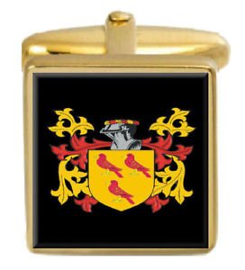 【送料無料】メンズアクセサリ― カフスリンクボックスセットunderwood england family crest coat of arms heraldry cufflinks box set engraved