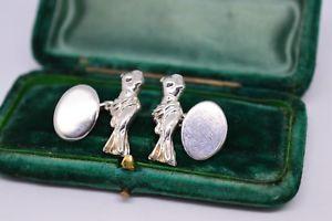 【送料無料】メンズアクセサリ― ヴィーナスビンテージスターリングシルバーロンドンリンクカフリンクスvintage sterling silver cufflinks of venus de milo by links of london b172